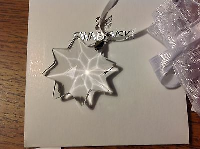 Swarovski 2014 Clear EUROPE PROMOTIONAL SMALL X-MAS ORNAM (Not sold in the U.S.)