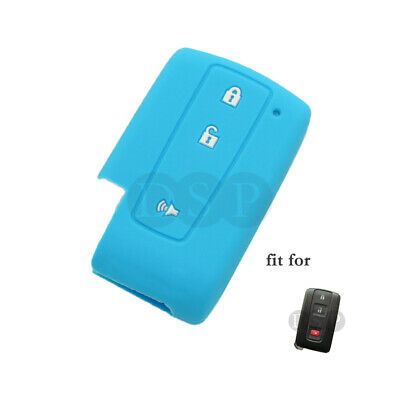 Silicone Cover Holder fit for TOYOTA Prius Smart Remote Key Case 3 BTN CV2414OR