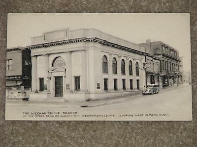 The Mechanicville Branch of the State Bank of Albany, Mechanicville, N.Y. unused