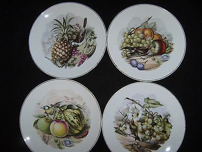 Set of 4 Vintage Neiman-Marcus Dessert Plates, Made in West Germany