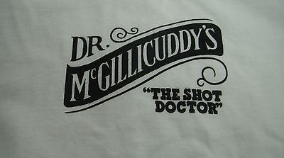 "Dr Mcgillicuddy's Schnapps - ""the Shot Doctor"" Ladies T-Shirt - X-Large Xl *new*"