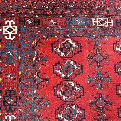 Große Afghanistan Taschenfront 180x92cm Jowal Chuval bagface tapis rug tappeto
