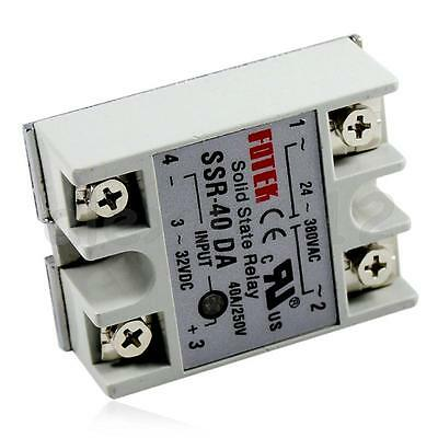 New 24V-380V 40A SSR-40DA Solid State Relay For PID Temperature Controller