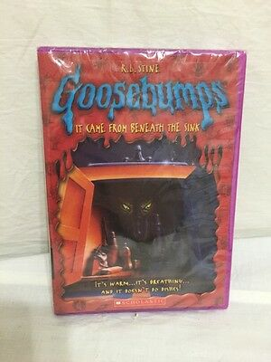 goosebumps it came from beneath the sink dvd 2007