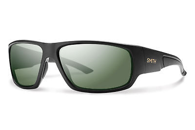 236718bd60f6a Smith Optics Discord Polarized Sunglasses - MATTE BLACK POLAR GRAY GREEN