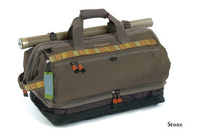 """Fishpond Cimarron 24.5"""" Wader/Duffel Bag and Backpack Stone - Fly Fishing"""