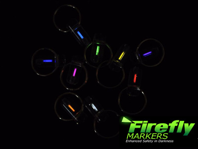 Firefly Bivvy Marker Glow in the Dark Keyring Kit Marker FREE UK DELIVERY