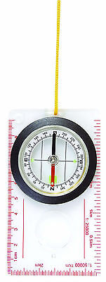 New Mil-Com Army Style Military Liquid Filled Map Reading Compass In Mm,survival