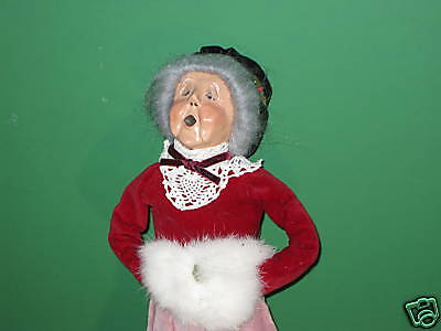 Byers Choice 1989 Victorian Grandmother with Muff