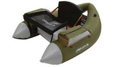 Outcast Fish Cat 4 LCS - Olive - Float Tube