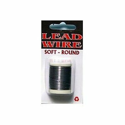 Lead Wire Soft Round Spool - .030 - Fly Tying