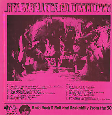 Various Artists - Hey Babe Let's Go Downtown (Rockabilly Reissue Wendi Lp 002)