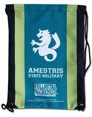 *NEW* Fullmetal Alchemist Brotherhood: Ametris State Alchemist Drawstring Bag