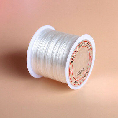 20 To 90 Meter 0.25-0.7mm 1 Roll Bracelet Beading Cord String Thread Accessory