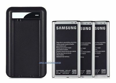 New 2800mAh OEM Battery+ Charger FOR Samsung GALAXY S5 Active G870 G870A / I9600