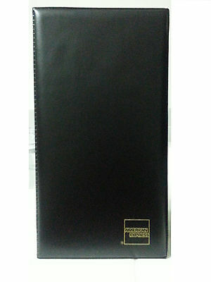 #2 Double Panel Restaurant Guest Check Presenter Book by American Express Billi