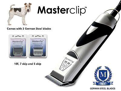 Fox Terrier Dog Grooming Clippers Set fits Oster Andis A5 blades by Masterclip