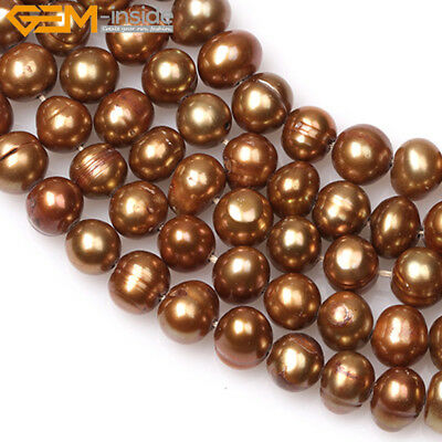 """Pretty 6mm Round Freshwater Pearl DIY Jewelry Making GEM Beads 15"""" Colors Select"""