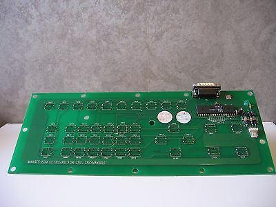 MAXEE EDM Keyboard for ZNC, CNC:MAX9941