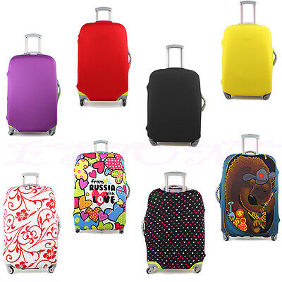 Fashion Luggage Carrier Protector Elastic Suitcase Cases Cover Dust-Proof Bag