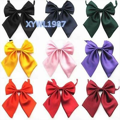 Adjustable Japanese School Girl JK Uniform Bow Tie Students Cute Bowknot Necktie