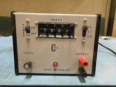 Hertz Model Dtg-1 Digital Tone Generator