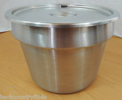 Vollrath Stainless Steel Stock Pot w Lid No Ladle Commercial Grade USA