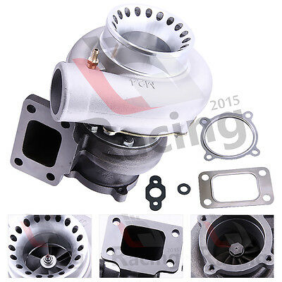 Universal GT3582 A/R 0.7 anti-surge 4 Bolt T3 Flange Water Cold Turbocharger LJR