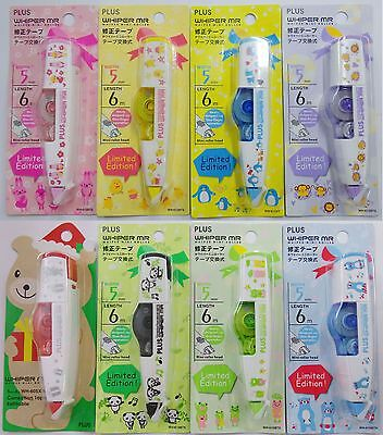 Limited 5mm PLUS Whiper Mr Correction Tape 8 styles White Out Tape Free Ship