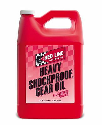 Red Line Heavy Shockproof Gear Oil 75W250 / 75W90 US Gallon 3.785 Litres