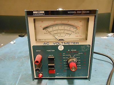 Heath Model Sm-523B Ac Voltmeter