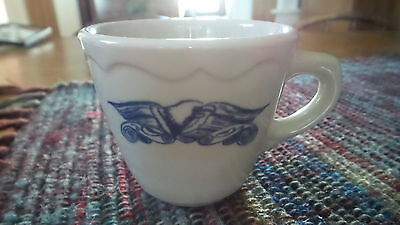 Vintage Syracuse China Restaurant Ware CUP, LIBERTY Blue,Eagle,Patriotic