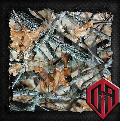 Hydrographic Water Transfer Hydro Dip Hydrodip Film Fall Tree Camo Camouflage -2