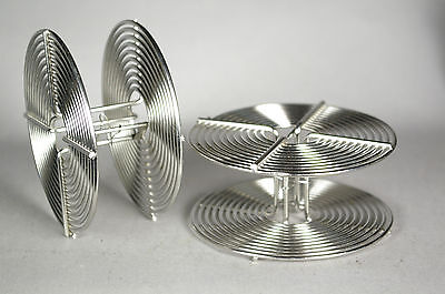 Lot of 2 35mm stainless steel developing reels