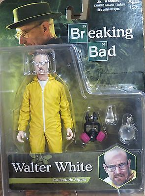 "NEW, FROM ""BREAKING BAD"", WALTER WHITE COLLECTIBLE FIGURE &  ACCESSORIES"