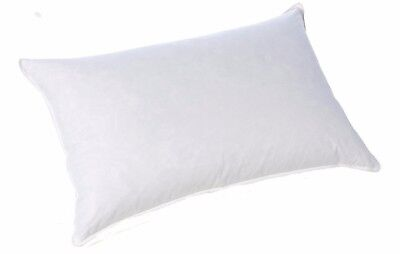 2 Pillows King Size Or Standard Size Soft,Med or Firm Pillows Cotton Sateen Trim