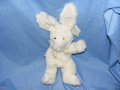 Lapin Blanc Russ Berrie Lucky - Collection Rare 5176