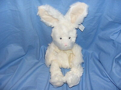 Russ peluche lapin blanc berrie lucky roaker 5177 collection rare