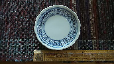 Vtg Syracuse China Restaurant Ware PLATE , LIBERTY Blue,Eagle,Patriotic 5 1/2""