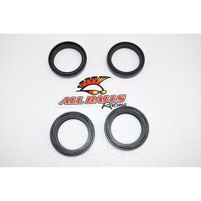 New All Balls Fork Seals With Dust Wiper Kit Double Lip Ninja Vfr Hayabusa R1 R6