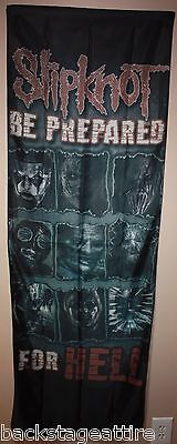 Slipknot Be Prepared For Hell Cloth Textile Fabric Poster Flag Wall Tapestry-New