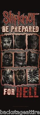 Slipknot Be Prepared For Hell Cloth Fabric 20x59 Poster Flag Wall Tapestry-New!