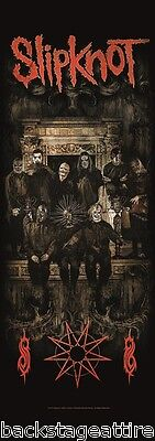 Slipknot Crest Fireplace Paul Gray Cloth Fabric 20x59 Poster Flag Wall Tapestry