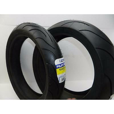 Michelin Pilot Power New Motorcycle Tire Combo Set Pair 190/50Zr17 120/70Zr17 8