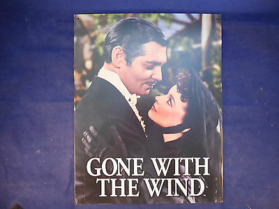 gone with the wind tin poster sign OF THE FAMOUS KISS SCARLETT AND RHETT