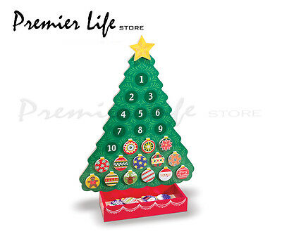 Wooden Advent Calendar - Melissa & Doug Countdown to Christmas