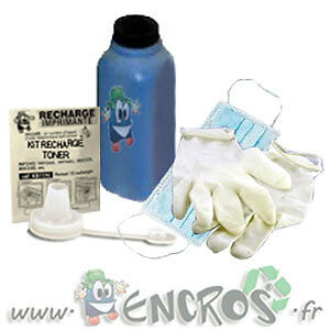 # OKI C7300 Cyan Kit Recharge Toner -KIT TONER