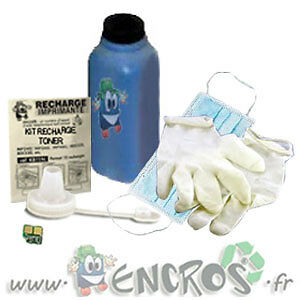 # OKI C9650N Cyan Kit Recharge Toner -KIT TONER