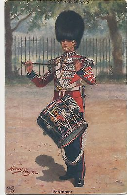 POSTCARD MILITARY  Coldstream Guards  Drummer   Tuck