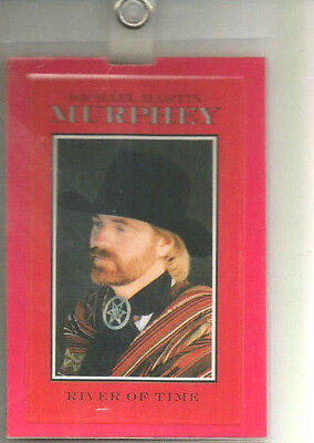 Michael Martin Murphey All Access River Of Time 1988 Laminate Pass